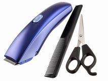 Peças da preparação do cabelo Imagem de Stock Royalty Free