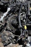Peças do carro da sucata Foto de Stock