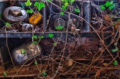 Peças do carro do vintage Fotografia de Stock Royalty Free
