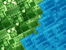 Peças do computador Fotografia de Stock
