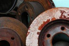 Peças do freio - auto serviço Foto de Stock Royalty Free