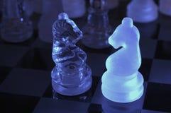 Peças do jogo de xadrez Imagens de Stock Royalty Free