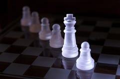 Peças do jogo de xadrez Foto de Stock