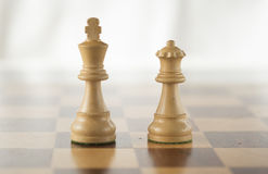 Peças do jogo de xadrez Imagem de Stock Royalty Free