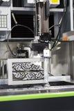 Peças do molde do corte de máquina do corte do fio do CNC Fotos de Stock