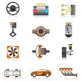 Peças do motor de automóveis Foto de Stock