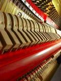Peças do piano imagem de stock