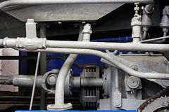 Peças mecânicas do motor velho Fotos de Stock Royalty Free