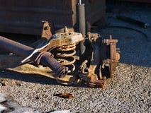 Peças oxidadas do carro Foto de Stock Royalty Free