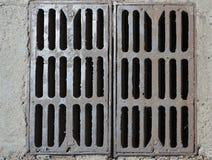 Peças oxidadas do dreno do metal Fotografia de Stock Royalty Free