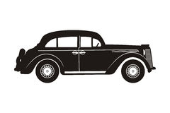 Peças retros do russo car Imagem de Stock