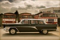 Peças retros do russo car Foto de Stock
