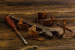 Peças sobresselentes e instrumentos Imagens de Stock Royalty Free