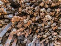 Peças sobresselentes industriais Foto de Stock