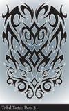 Peças tribais da tatuagem Foto de Stock