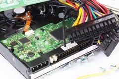 Peças velhas do computador Fotografia de Stock Royalty Free