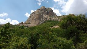 Peña de Bernal Royalty Free Stock Photos