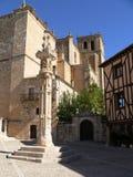 Peñaranda de Duero, Spanien Royaltyfri Bild