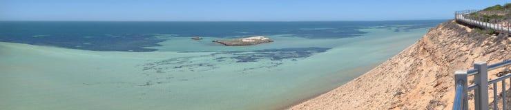 Peñasco de Eagle, bahía del tiburón, Australia occidental Fotografía de archivo