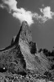 Peñasco de la chimenea Foto de archivo libre de regalías
