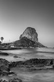 Peñon de Ifach - Calp - Spain. Peñon de Ifach view in morning stock photo