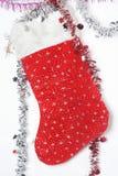Peúga do Natal Fotos de Stock Royalty Free