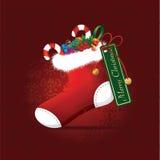 Peúga do Natal Imagens de Stock