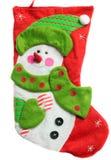 Peúga vermelha do Natal Fotografia de Stock