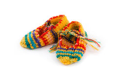 Peúgas de lã Foto de Stock