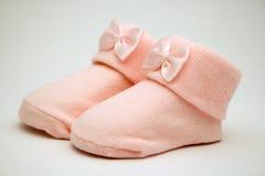 Peúgas do bebê Foto de Stock