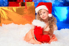 Peúgas do Natal fotografia de stock