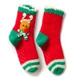 Peúgas do Natal imagem de stock