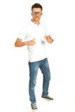 Pełna długość przypadkowy mężczyzna Zdjęcie Stock