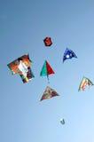 pełne latawców lotnicze fotografia stock