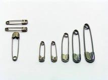 pełne podłączeniowe prętowe szpilki bezpieczeństwa Zdjęcia Stock