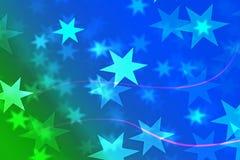 Pełnego koloru abstrakcjonistyczny tło z bokeh światłami Zdjęcie Stock