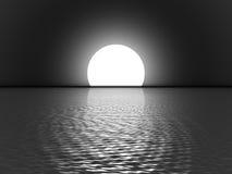 pełnia księżyca Zdjęcia Royalty Free