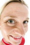 pełnoletniego żeńskiego środkowego kostiumu pływacki triathlete mokry Obrazy Stock