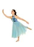 pełnoletniego tancerza liryczny nastoletni fotografia stock