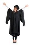 Pełny ciało student uniwersytetu. Obrazy Royalty Free