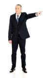 Pełny długość szefa odprawianie someone Obrazy Stock