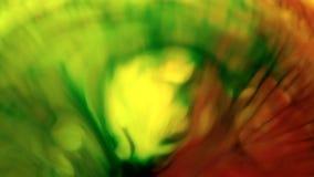 Pełny HD abstrakcyjny tło Ciekły atrament kontaminaci wybuchu zawijasa fluid zbiory wideo