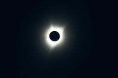 Pełny słoneczny zaćmienie zdjęcie royalty free