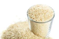 Pełny szkło ryż Zdjęcie Stock