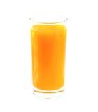 Pełny szkło sok Zdjęcia Stock