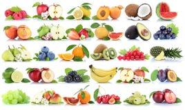 Pe клубники банана яблок яблока собрания плодоовощ плодоовощей оранжевое Стоковое Изображение RF