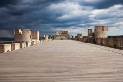 Peñafiel castle Royalty Free Stock Photo