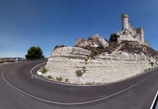 Peñafiel Castle (Panorama) Royalty Free Stock Photos