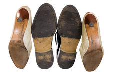 płeć buty Fotografia Stock