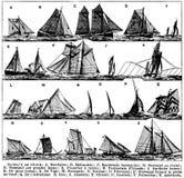 pêche-bateaux de Royalty Free Stock Image